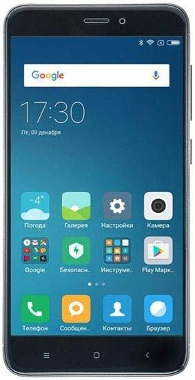 Смартфон Xiaomi Redmi 4X 32Gb LTE Black
