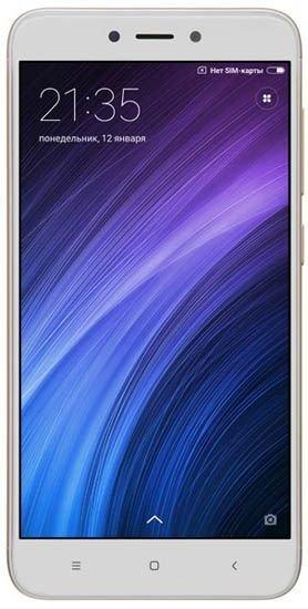 Смартфон Xiaomi Redmi 4X 32Gb LTE Gold