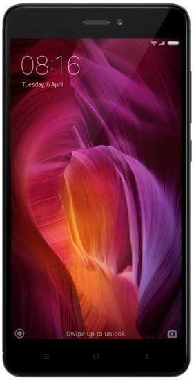 Смартфон Xiaomi Redmi Note 4 64Gb/4Gb LTE Black