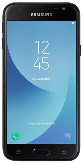 Смартфон Samsung Galaxy J3 2017 16Gb SM-J330F LTE Black
