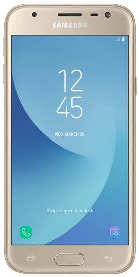 Смартфон Samsung Galaxy J3 2017 16Gb SM-J330F LTE Gold