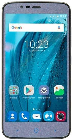 Смартфон ZTE Blade A310 Dual SIM 8Gb LTE Gray