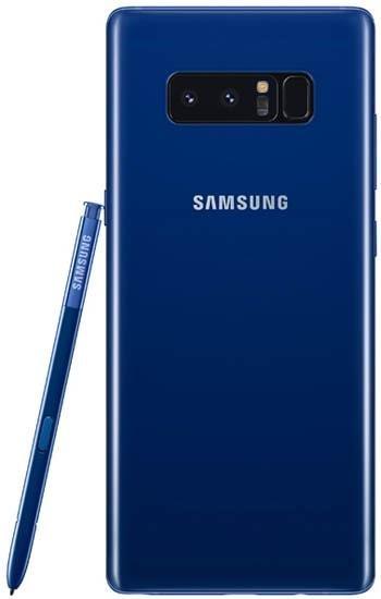 Смартфон Samsung Galaxy Note 8 64Gb SM-N950F Dual SIM LTE Blue