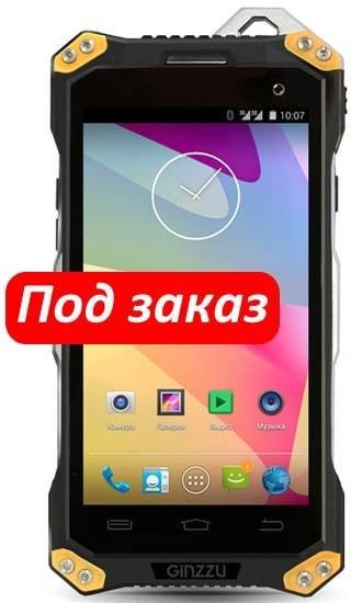 Смартфон GiNZZU RS94D 16Gb Dual SIM LTE Black Yellow