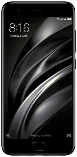 Смартфон Xiaomi Mi 6 64Gb LTE Black