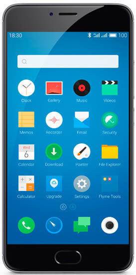 Смартфон MEIZU M3 Note 16Gb L681H LTE Gray