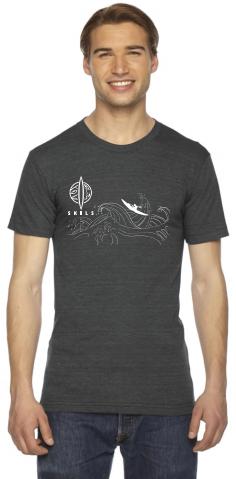 SKILS T-shirt Black - Medium