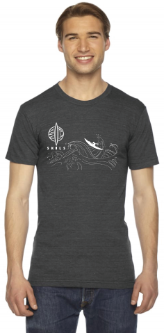 SKILS T-shirt Black - Large