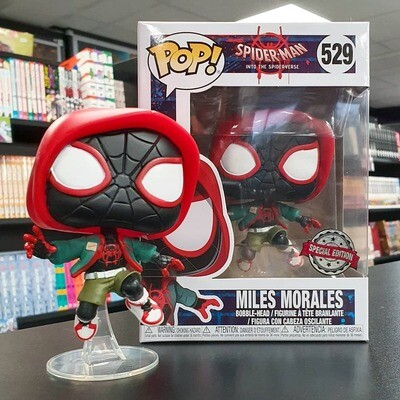 Pop! Marvel: Spider-Man: Into the Spider-Verse - Miles Morales (Casual) PX