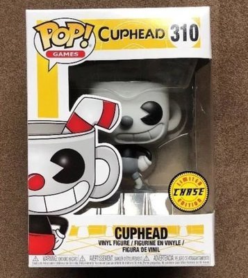 POP CUPHEAD CUPHEAD (CHASE)  VINYL FIGURE