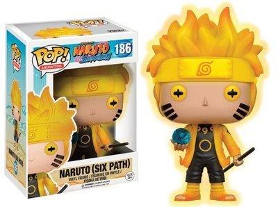 Naruto Shippuden POP! Animation Vinyl Figure Naruto (Six Path) GITD