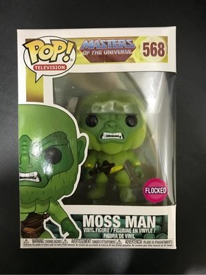 Masters of the Universe - Moss Man Flocked Pop! Vinyl Figure