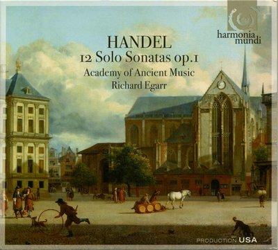 Handel Sonatas op.1 (Harmonia Mundi) Double CD