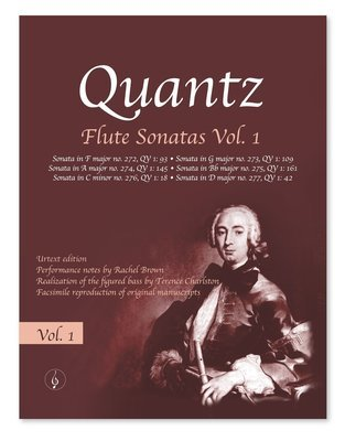 Quantz Flute Sonatas - Vol. 1  sheet music  *ABRSM Grade 8 syllabus