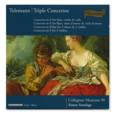 Telemann Triple Concertos (Chandos)
