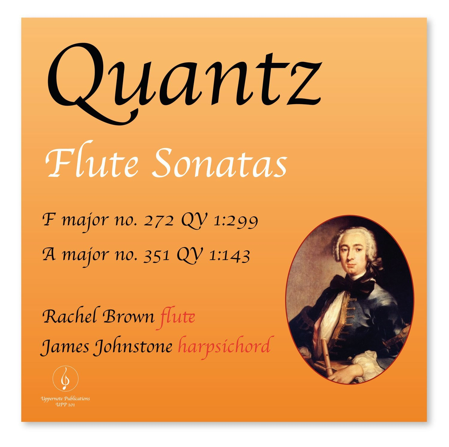 Quantz 2 Flute Sonatas  digital download  Flute Sonata in F 272* Flute Sonata in A 351 *  ABRSM Grade 8 syllabus - Download