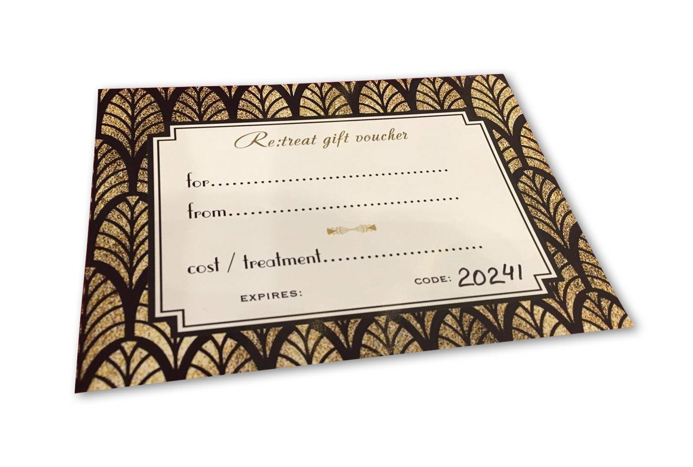 £75 Gift Voucher 00002