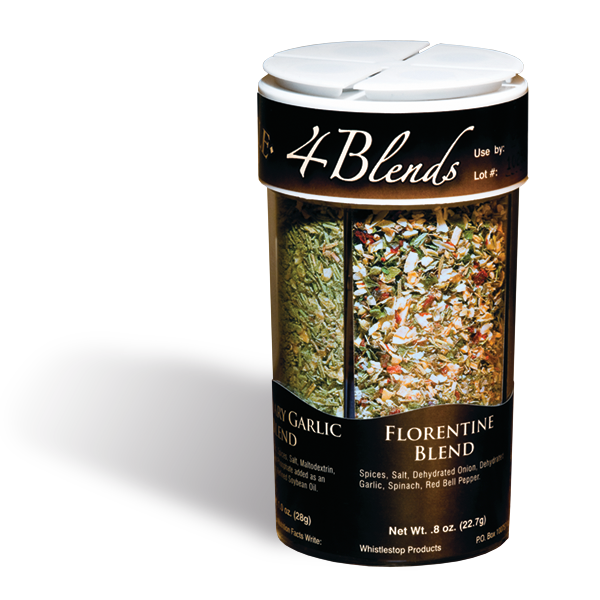 4-Blends Seasoning | 3.55-oz | 4-in-1 Shaker