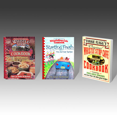 All Three WhistleStop Cookbooks