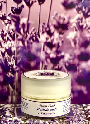 Crema Piedi Antiodorante e Riparatrice 50 ML (ONLY EUROPE)