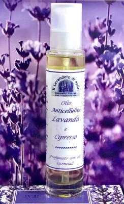 Olio Anticellulite Lavanda e Cipresso 100 ML