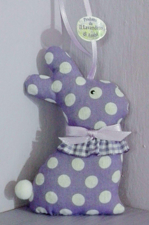 Coniglietto ripieno di lavanda (Varie fantasie di lilla)