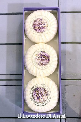 Confezione da 3 saponi artigianali lavanda