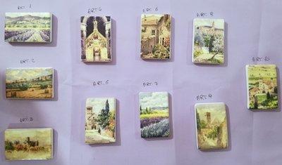 Calamite in ceramica di Assisi riproduzioni esclusive 6x4