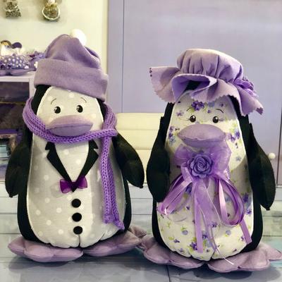 Pinguini fermaporta Altezza 27 cm (coppia)
