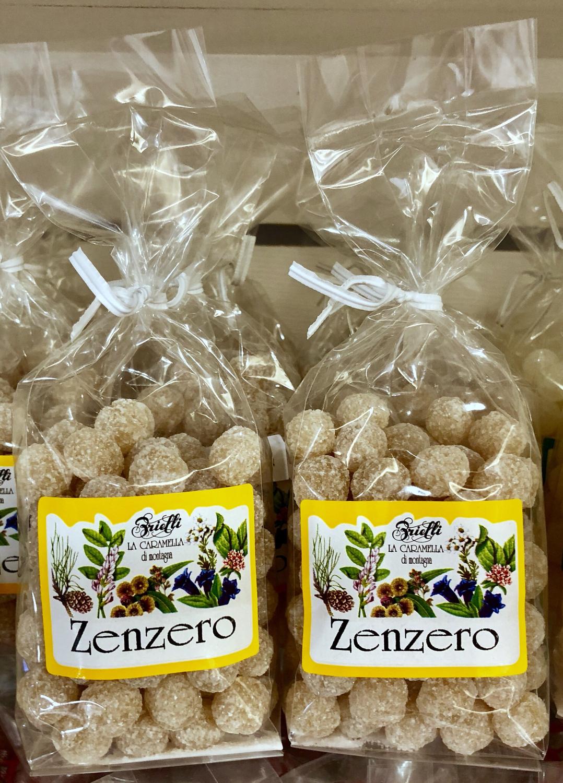 Caramelle allo Zenzero