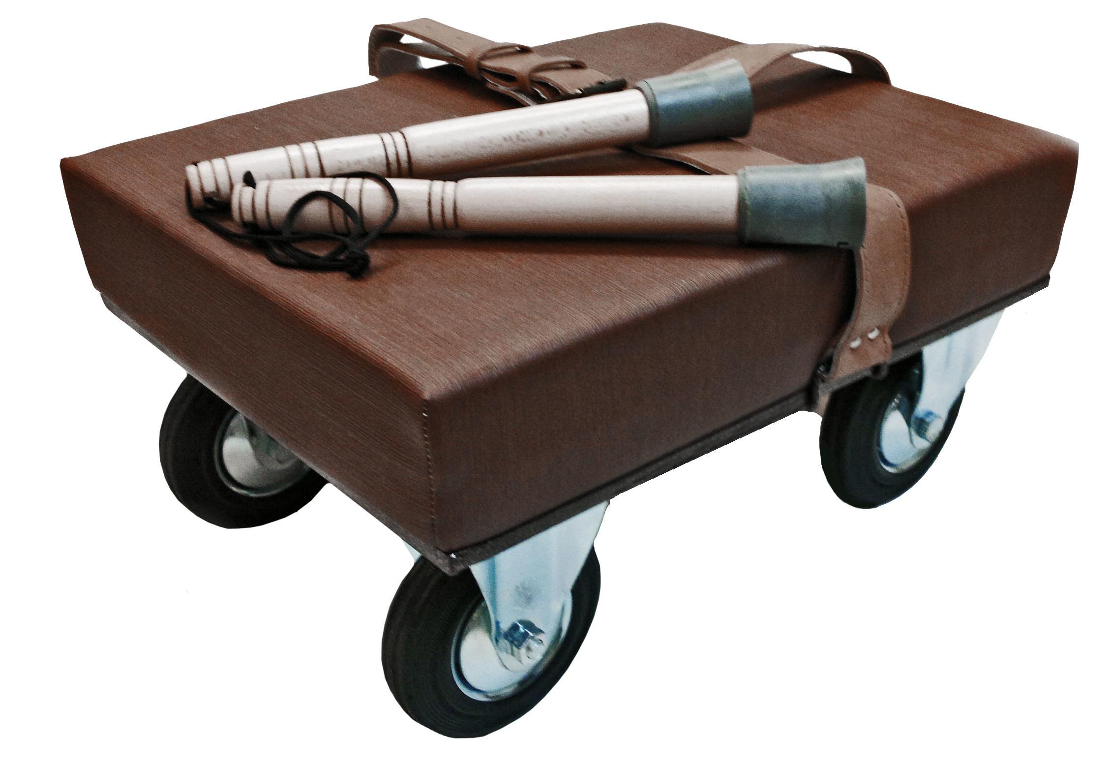 Ампутантов коляска-платформа для высоких