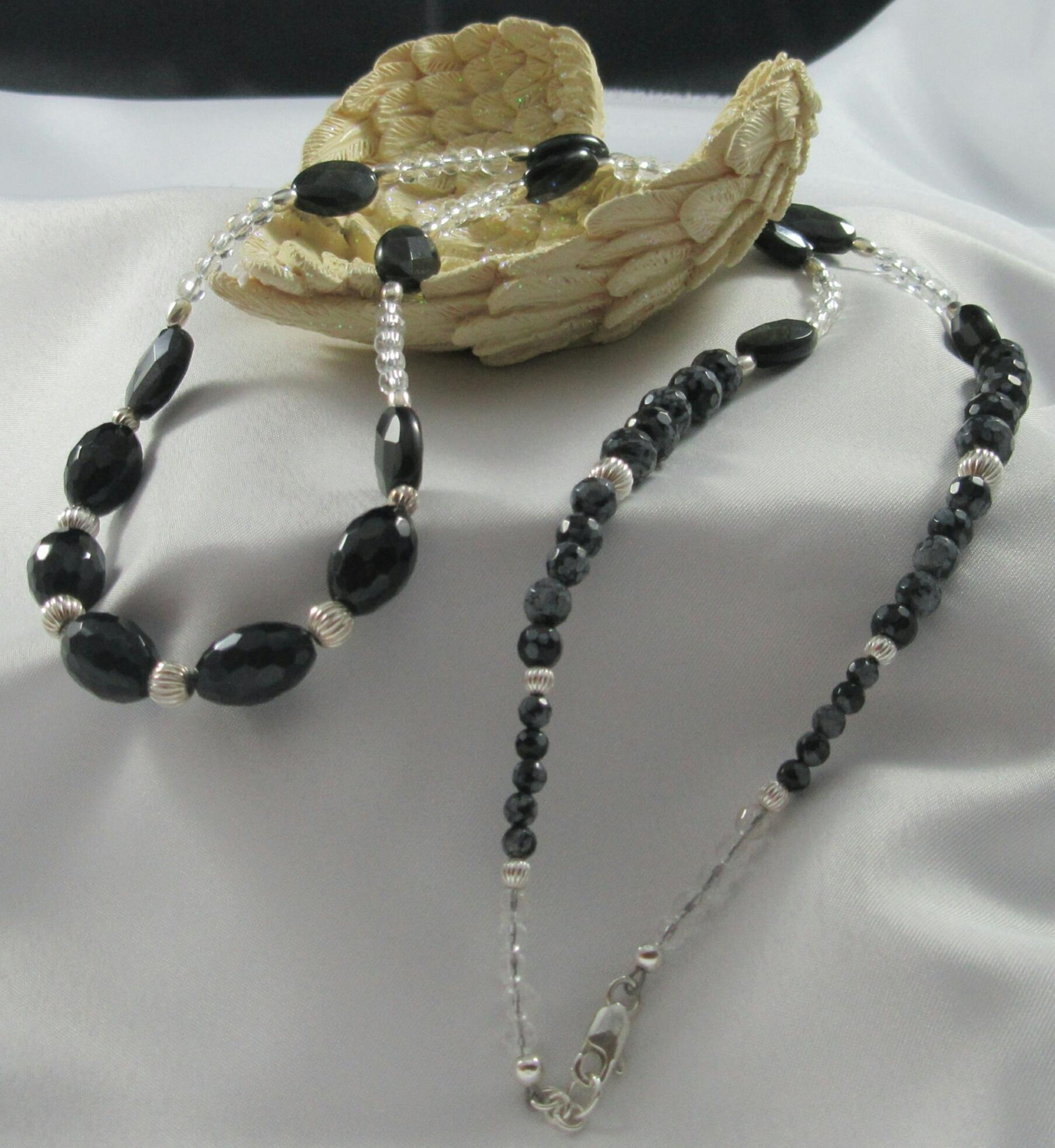 Black Obsidian Necklace 00006