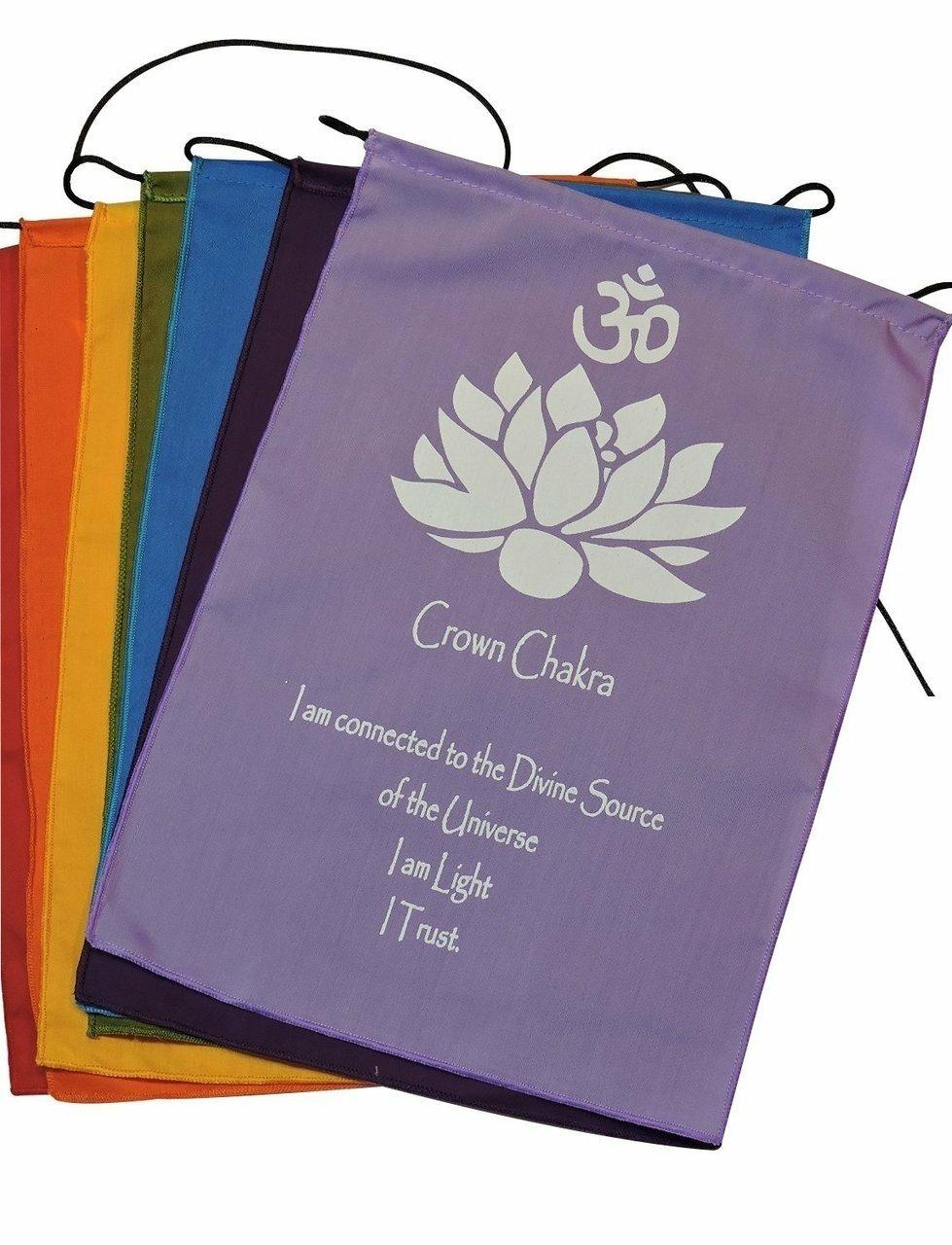 Chakra Prayer Flags 00023