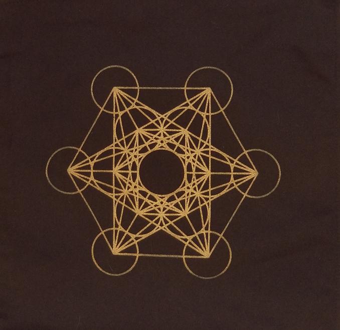 Metatron's Cube Mat 00024