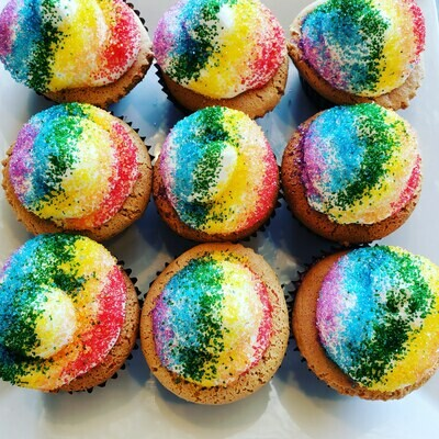Vanilla Cupcakes -- Gluten Free