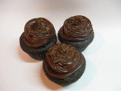Triple Chocolate Cupcake -- Gluten Free