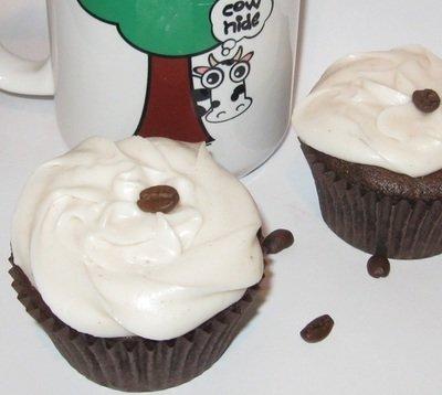 Espresso Fudge Cupcakes -- Gluten Free