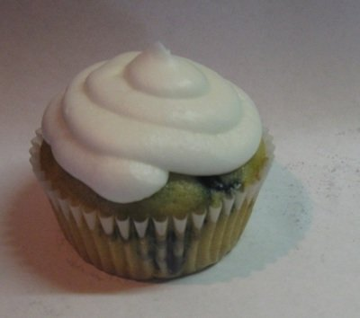 Blueberry Cupcakes -- Gluten Free