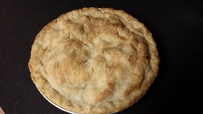 Blueberry Pie -- Gluten Free