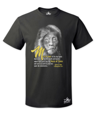 Men's Lion Face of Gad T-Shirt