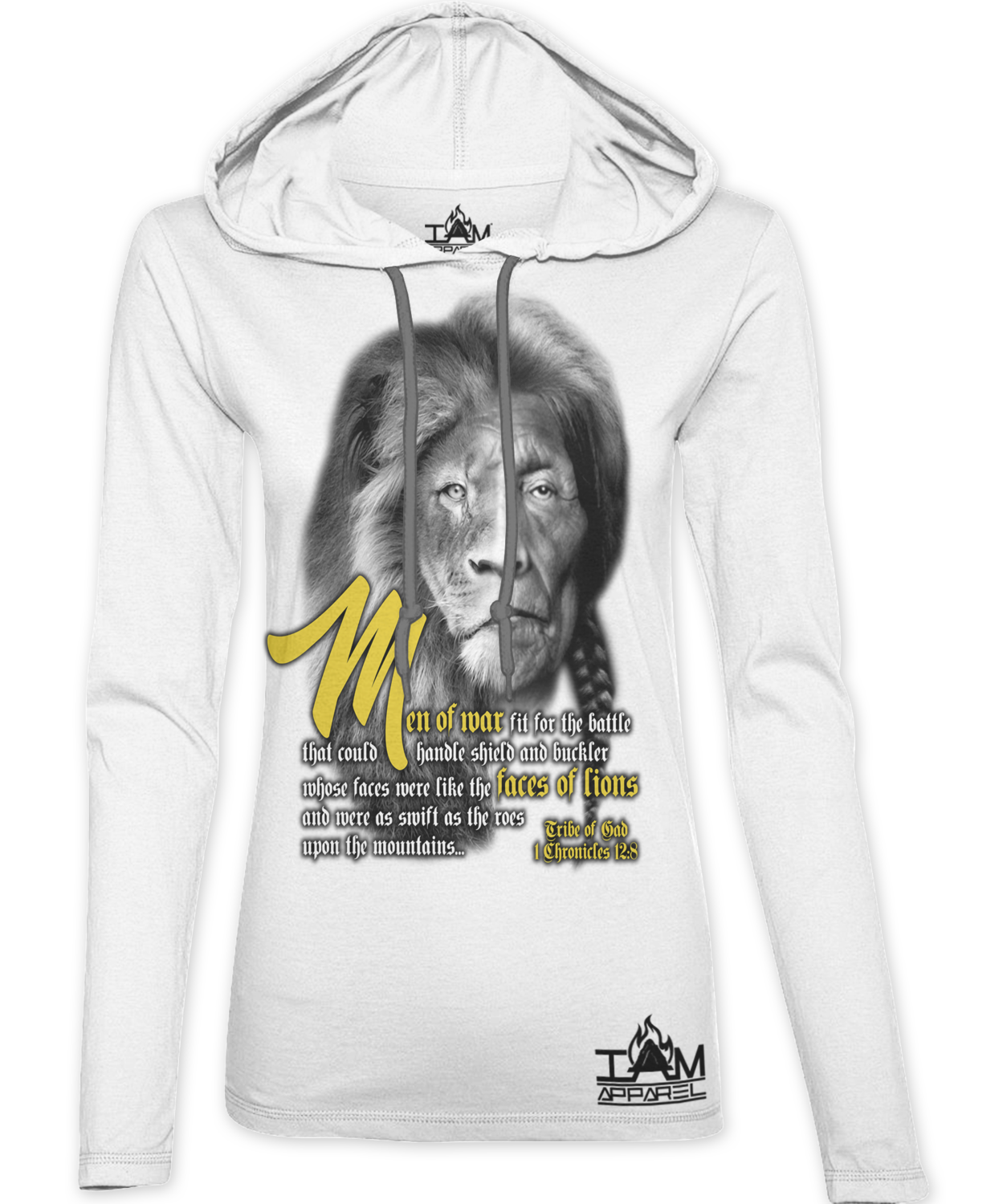 new arrival 55e62 f7197 Women's Lion Face of Gad Hoodie