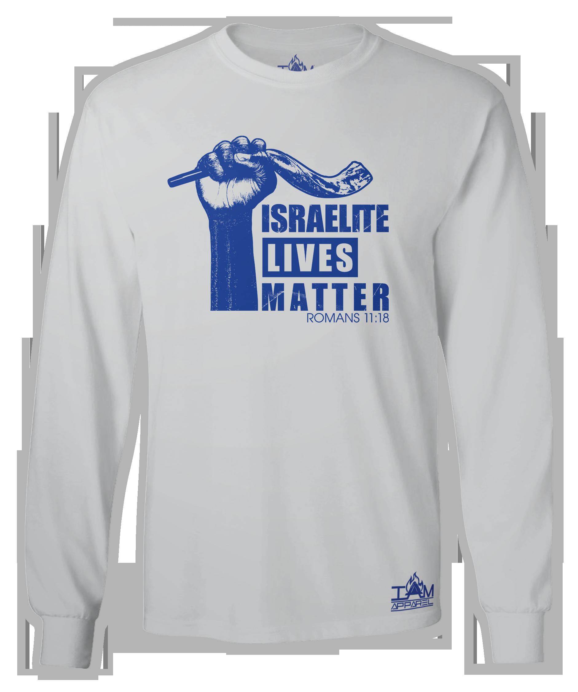 """""""Israelite Lives Matter"""" Men's Long Sleeved T-shirt 00042"""