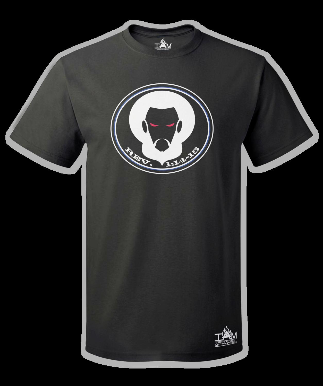 GOCC Men's Short Sleeved with image of Christ Black T-Shirt