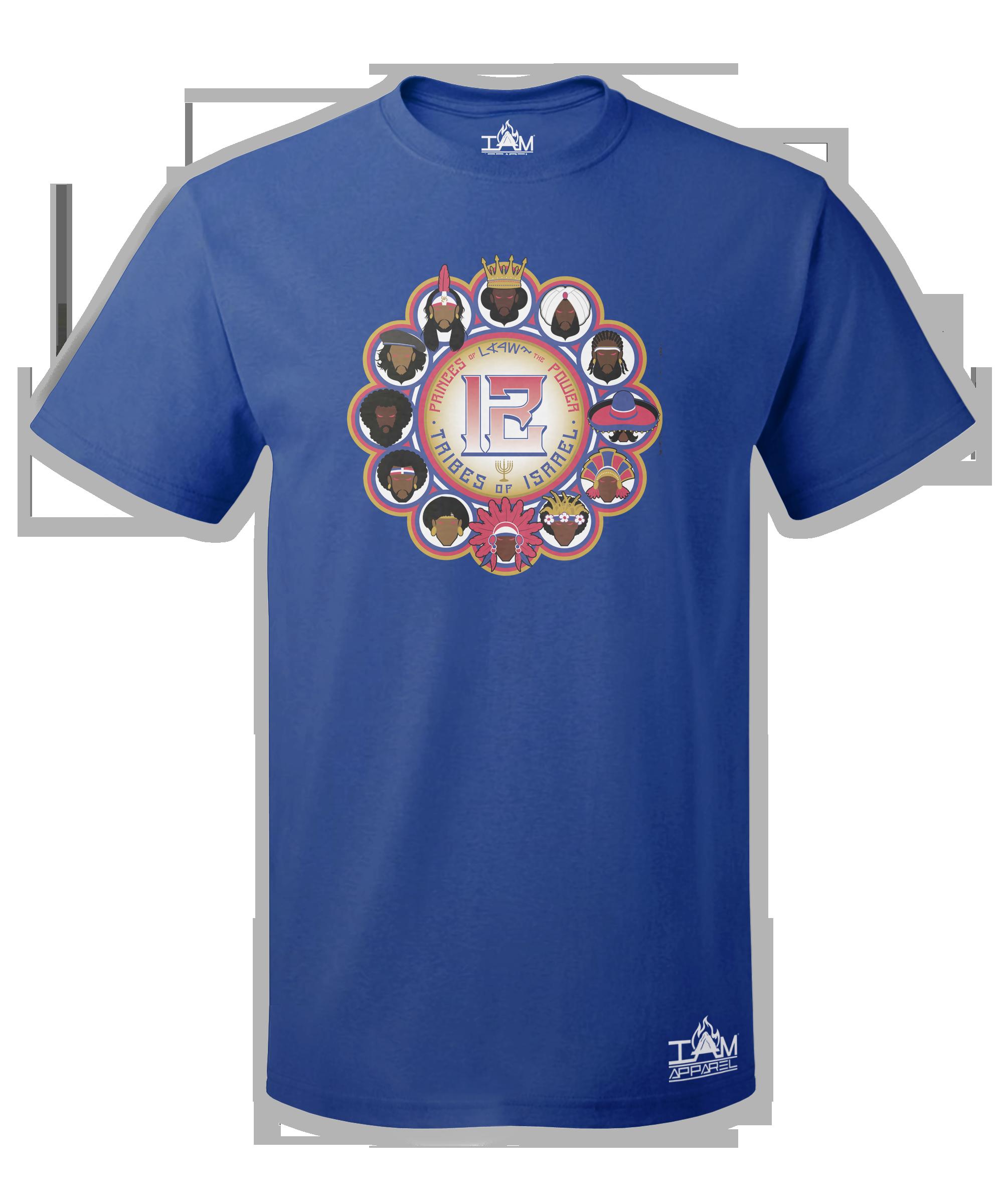 12 Tribes Image Men's  Short Sleeved T-shirt 00075