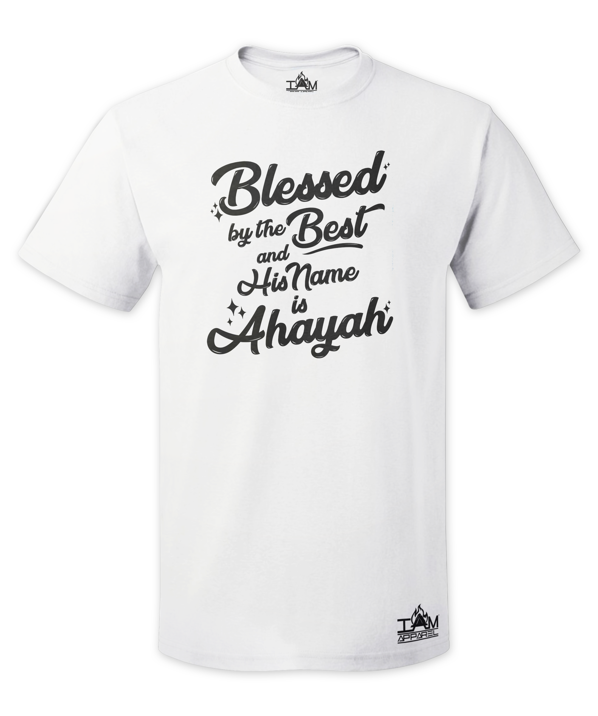 Men's Blessed by the best Short Sleeved T-shirt 00083