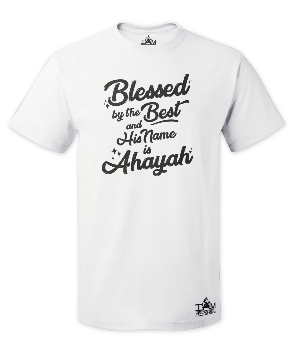 Men's Blessed by the best Short Sleeved T-shirt
