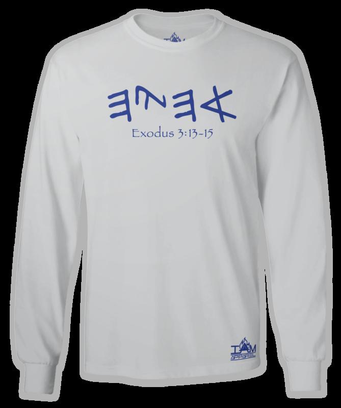 "GOCC Men's ""Ahayah"" Long Sleeved Grey T-shirt"