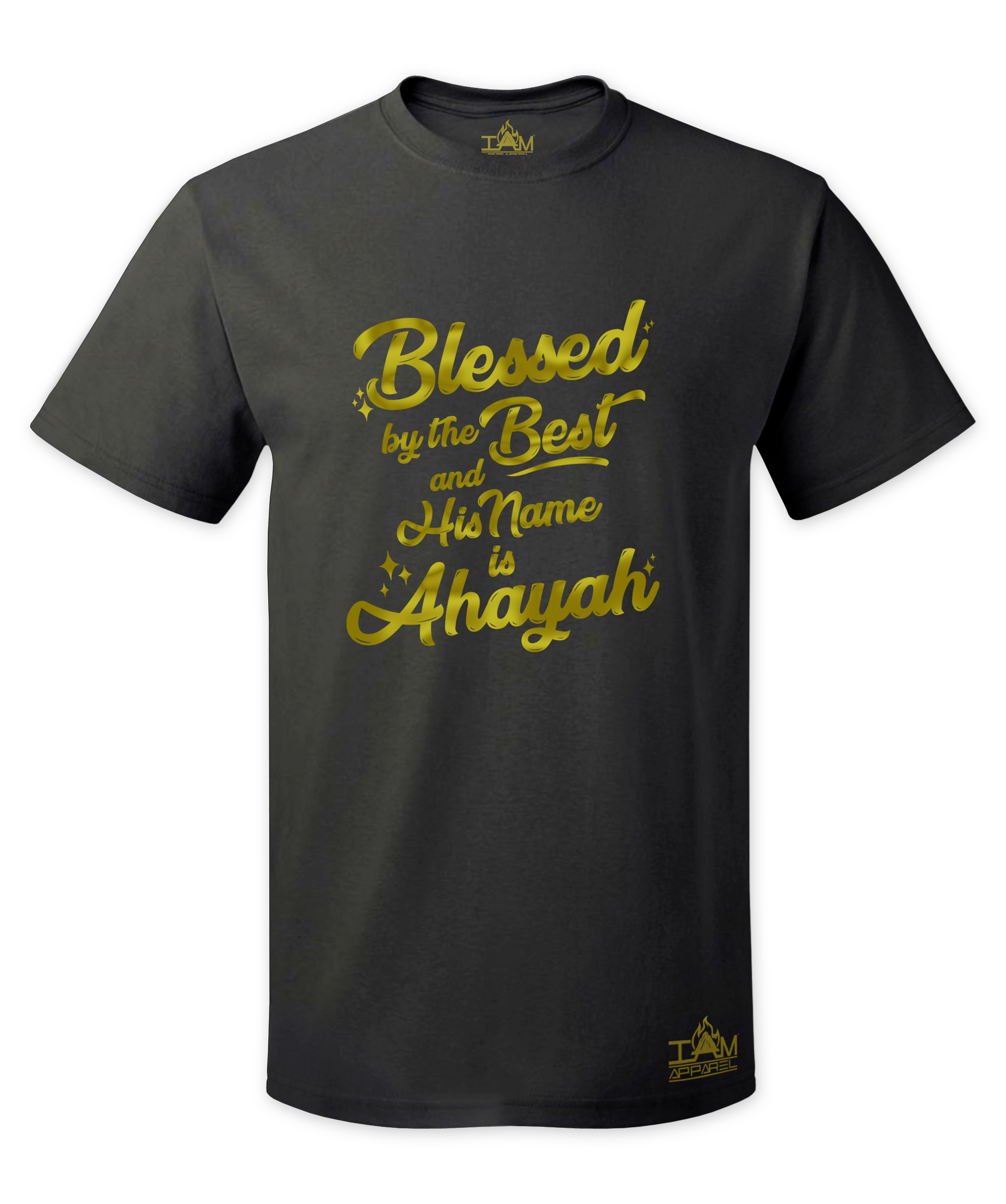 Men's GOLDEN SERIES Blessed by the best Short Sleeved T-shirt 00124
