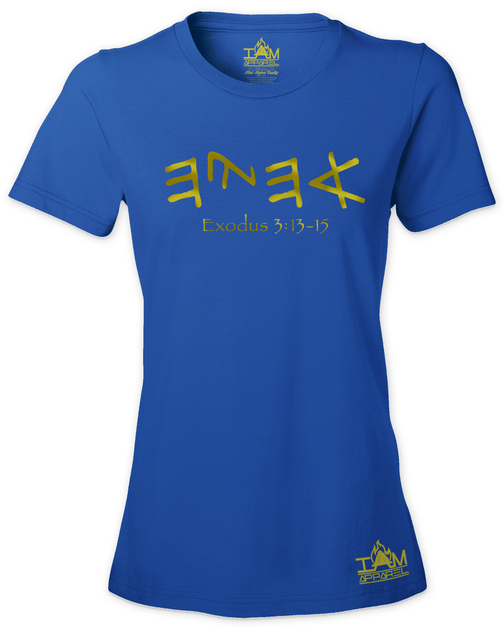 "Women's GOLDEN SERIES ""Ahayah"" Short Sleeved T-shirt"