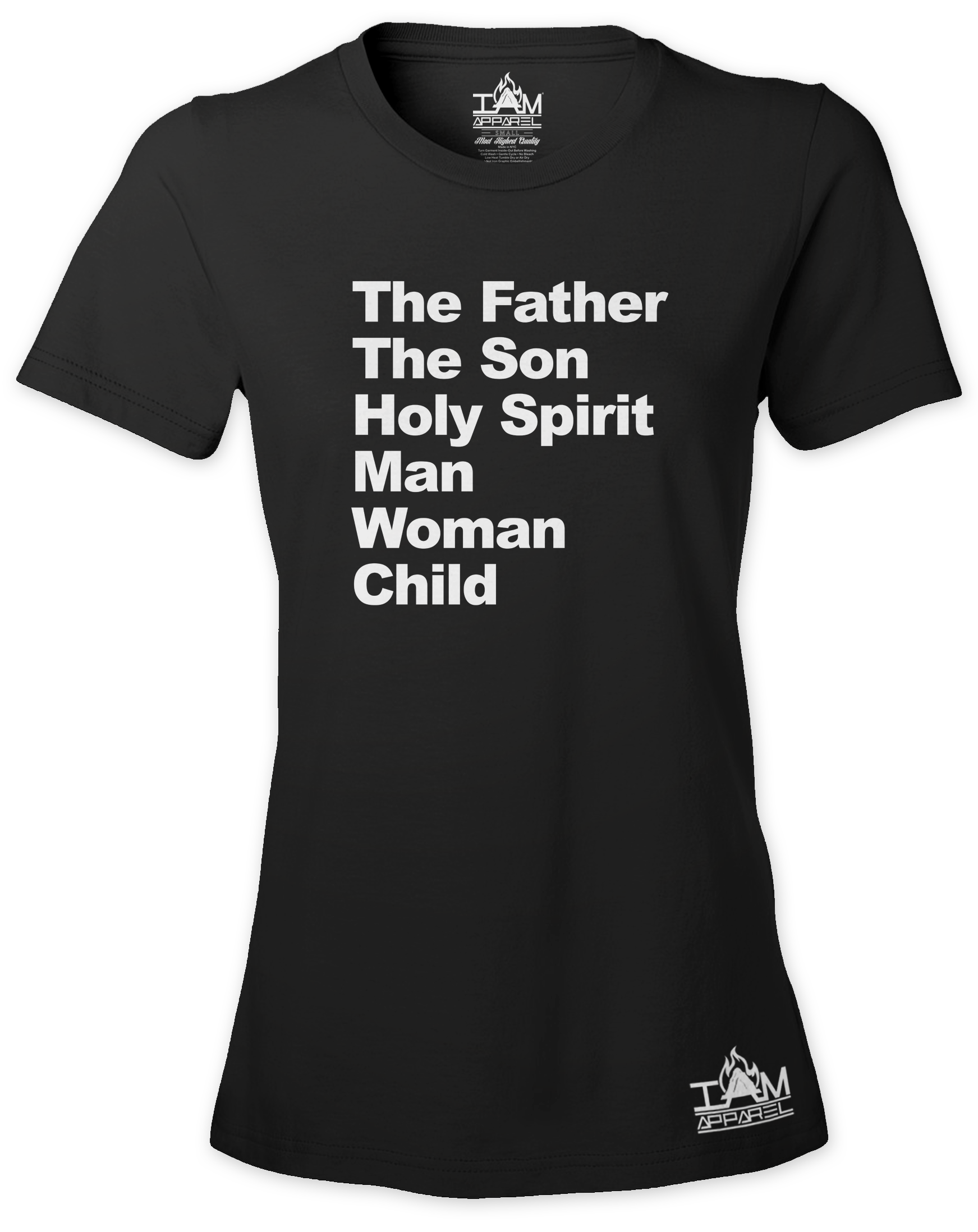 Women's Image of TMH Text Short Sleeved T-shirt